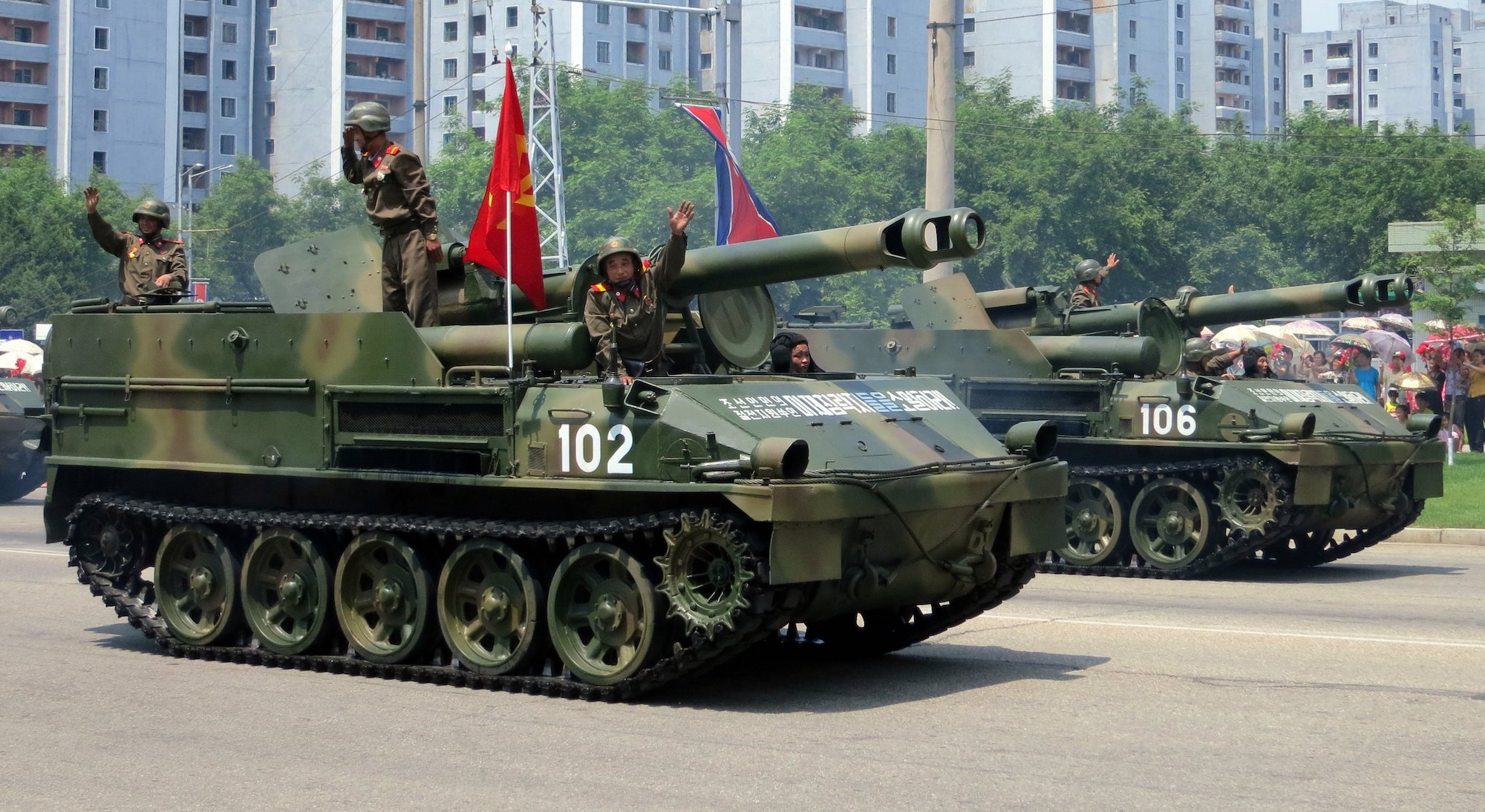 North Korea Victory Day 2013