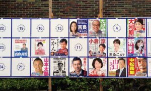 Election Posters in Japan