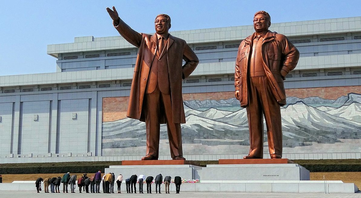Mansudae Monument, Pyongyang, North Korea