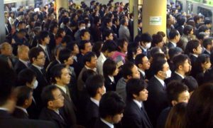 Salarymen at Rush Hour