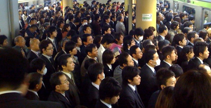Salarymen at Rush Hour