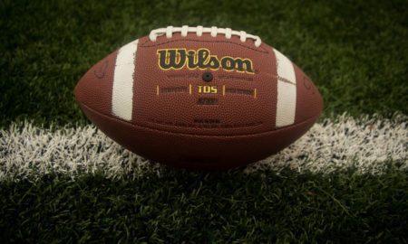 American Football on a Field