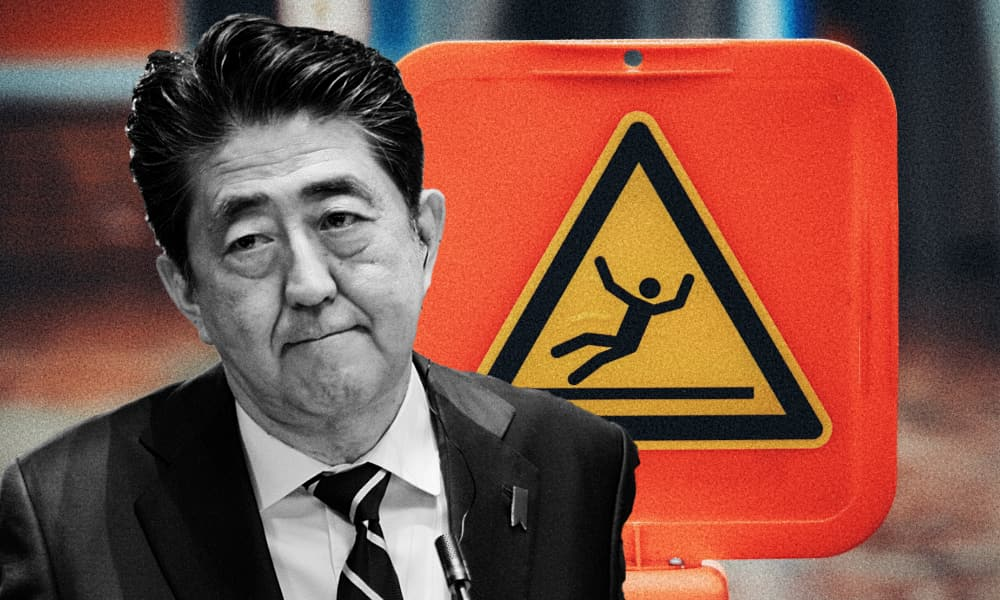 Abe Shinzo Danger Zone